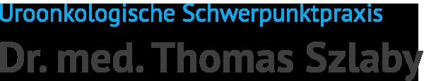 Dr. med. Thomas Szlaby – Facharzt für Urologie